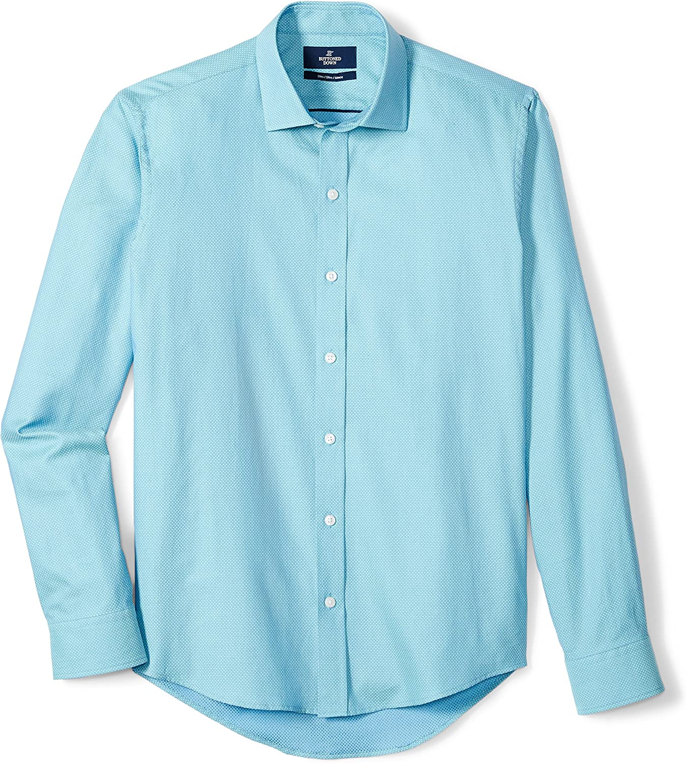 BUTTONED DOWN Mens Classic Fit Button-Collar Supima Cotton Dress Casual Shirt Brand