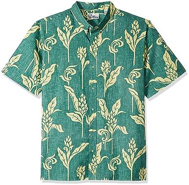 ac11315d Reyn Spooner Men's Walea Spooner Kloth Classic Fit Hawaiian Shirt at Amazon  Men's Clothing store:
