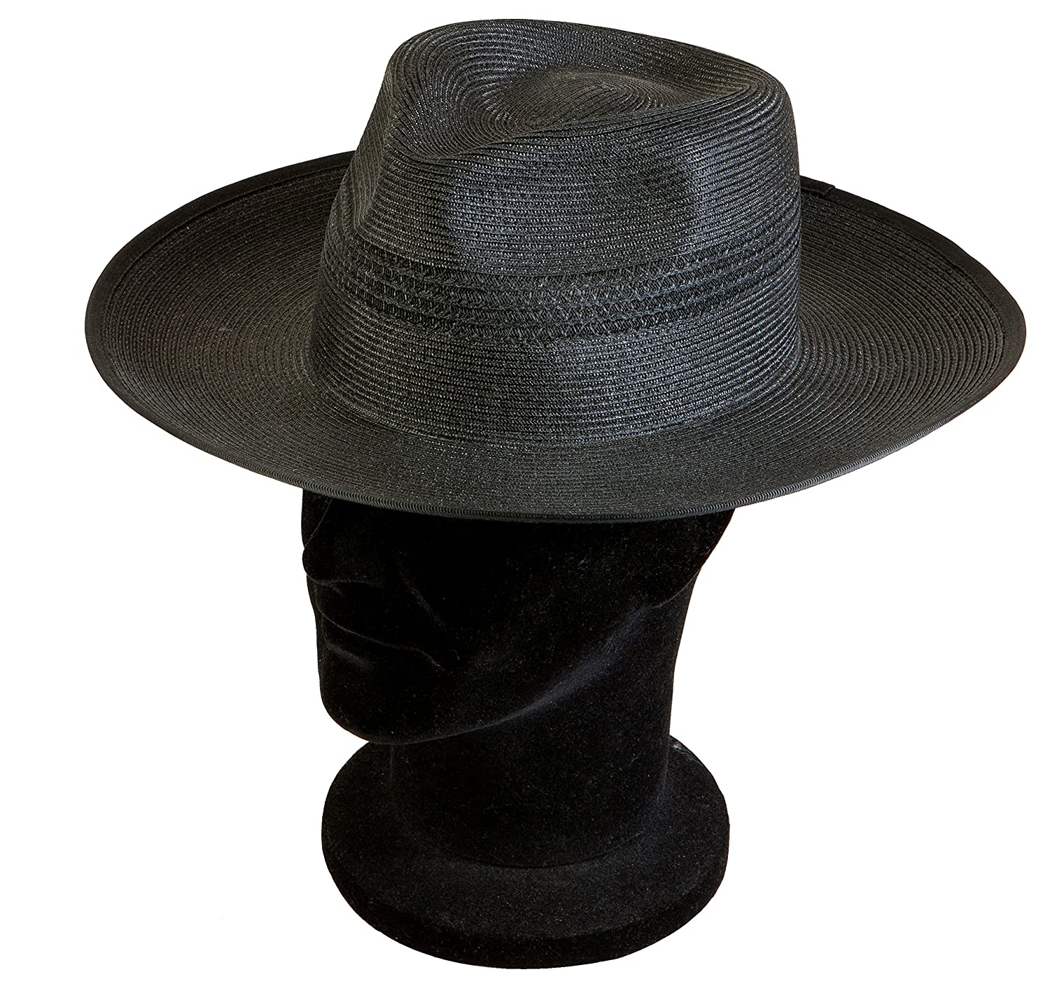 Acclaim Kalgoorlie International Cricket Umpire Summer Hat With The Stay Put Headband Black