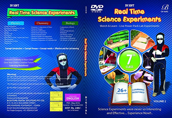 Real Time Science Experiments for 7th Class Physics +
