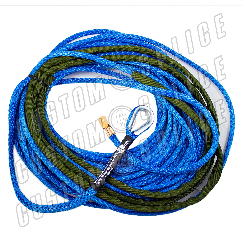 Amazon.com: 3/8 AmSteel Blue 150\' Synthetic Winch: Automotive