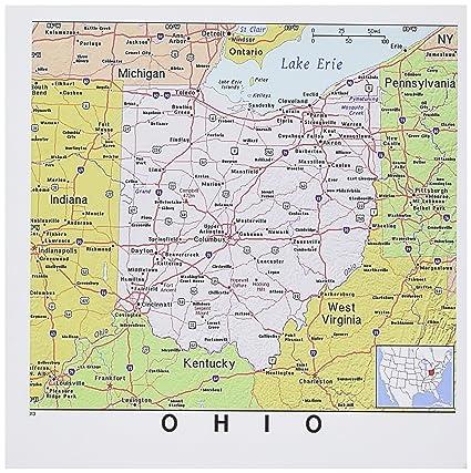 Amazon.com : 3dRose Set of 12 Greeting Cards, Print of Ohio ...
