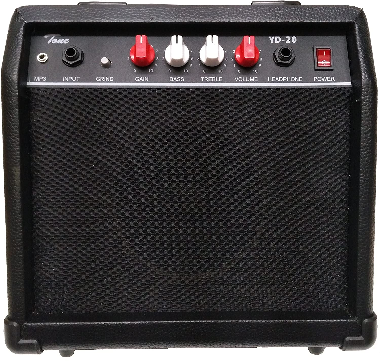 Tone YD-20 Electric Guitar Practice Amplifier (Black)