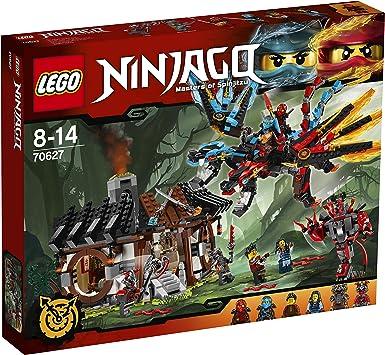 70627 Slackjaw LEGO Ninjago - Minifig Figur Drachenschmiede Vermillion 70627