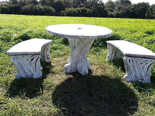 Cuadro de hormigón piedra Marbella arte fantástico.: Amazon.es: Jardín