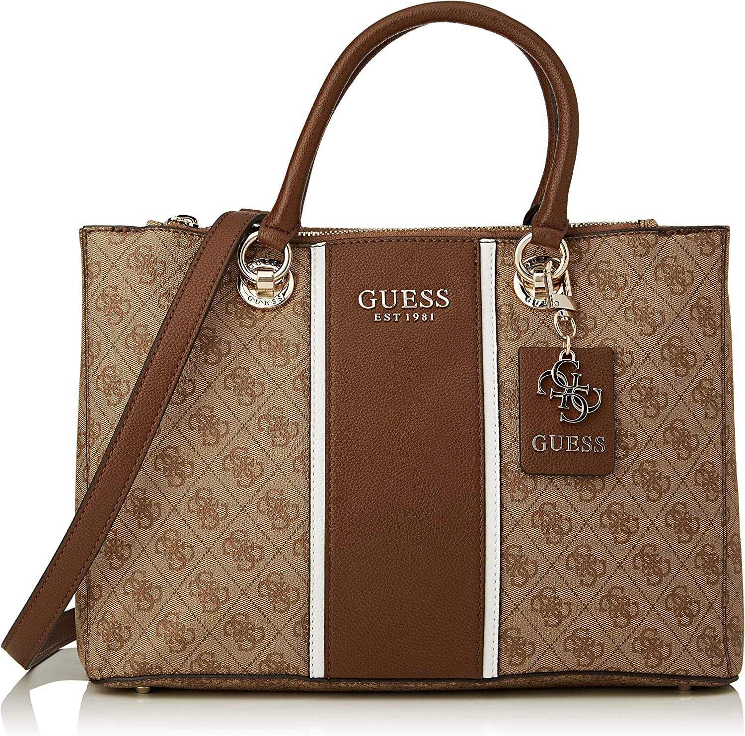 Coal Guess Cathleen Large Dome Satchel Taille Unique Sacoches Femme