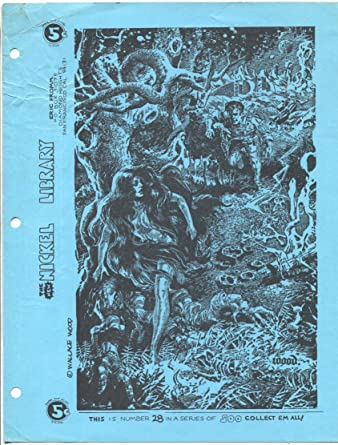 Amazoncom Nickel Library 28 1970s Eric Fromm Wally Wood Sci Fi
