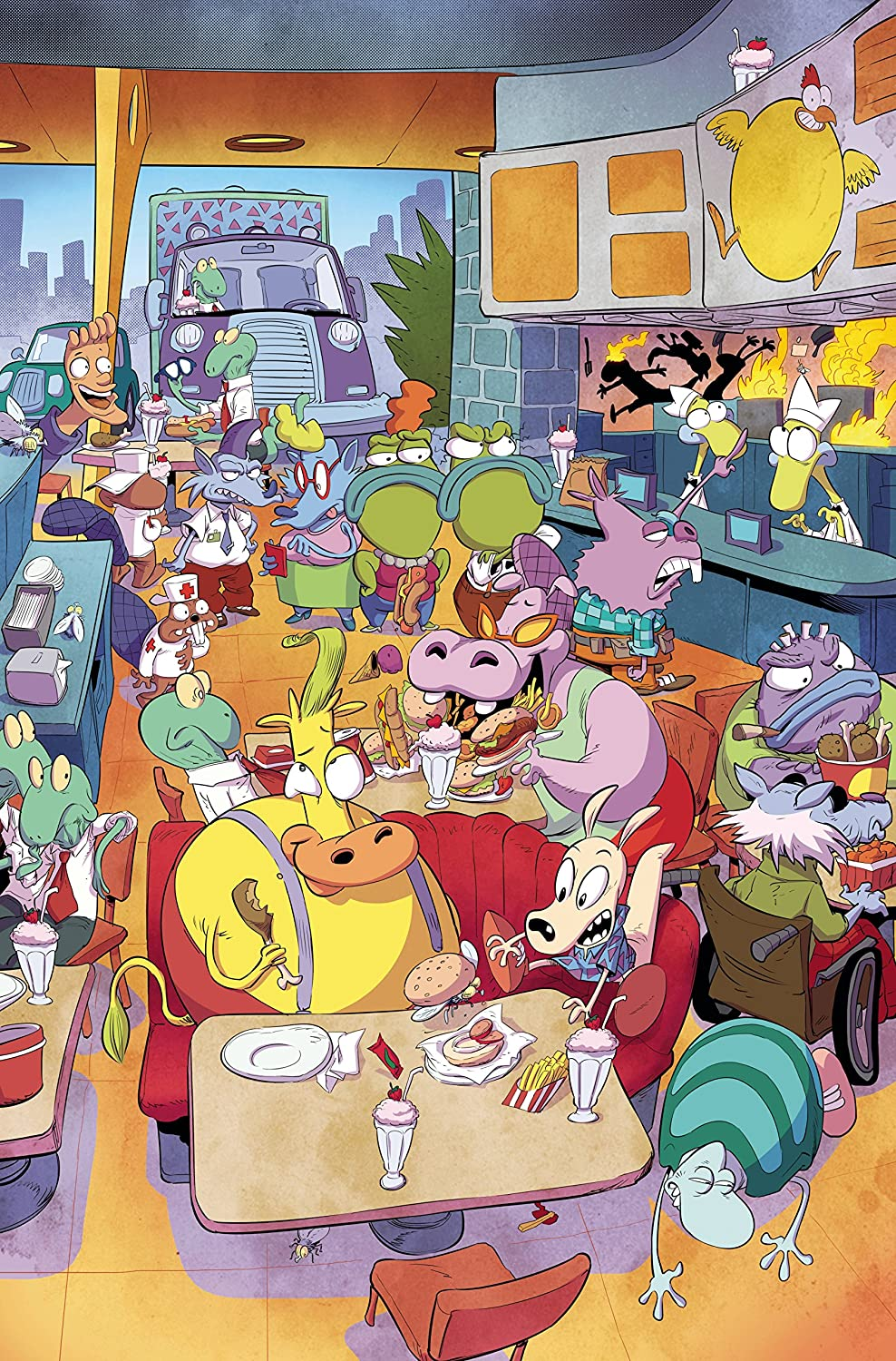 ROCKO'S MODERN LIFE #3 LOOK & FIND VARIANT COVER