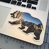 The Yosemite Valley Cali Bear Vinyl Sticker for