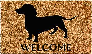 Calloway Mills AZ103031729 Dachshund Breed Doormat, 17