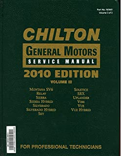 Chilton 2005 general motors mechanical service manual 2001 2005 chilton general motors service manual vol 3 fandeluxe Gallery