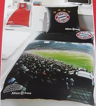 Fc Bayern München Bettwäsche Allianz Arena Amazonde Sport Freizeit