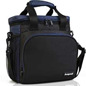 """Insulated Lunch Bag S1/S2: InsigniaX Cool Women Men Work Office Lunch Box/Lunchbox 