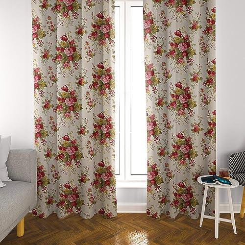 Atlas Home Floral Cotton Duck Curtain Panel Set Review