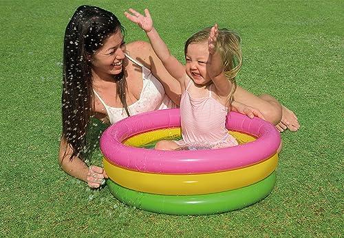 2.Intex Inflatable Baby Pool, Multi Color (2-feet)