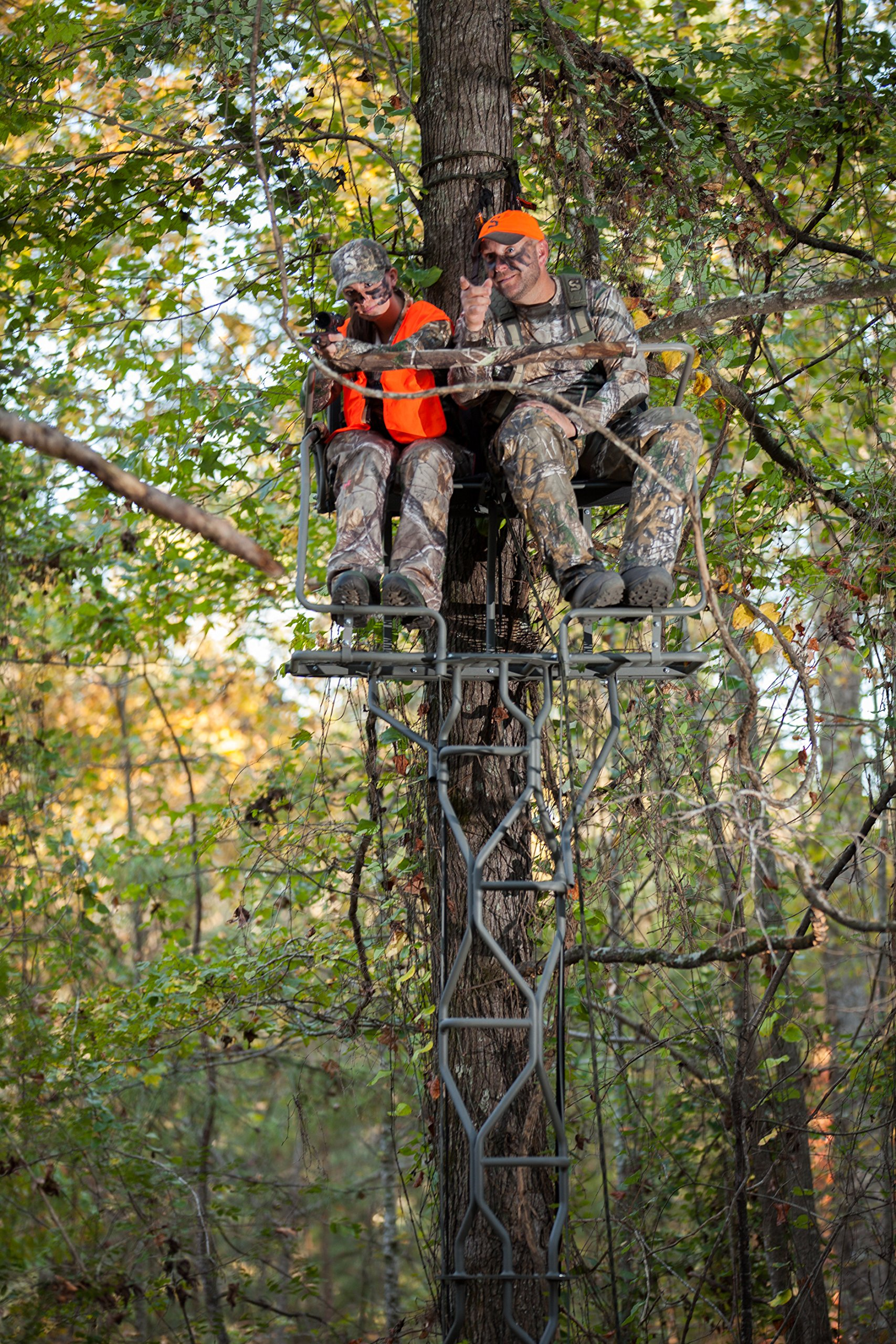 Summit Treestands The Vine Double Ladder Stand by Summit Treestands (Image #1)