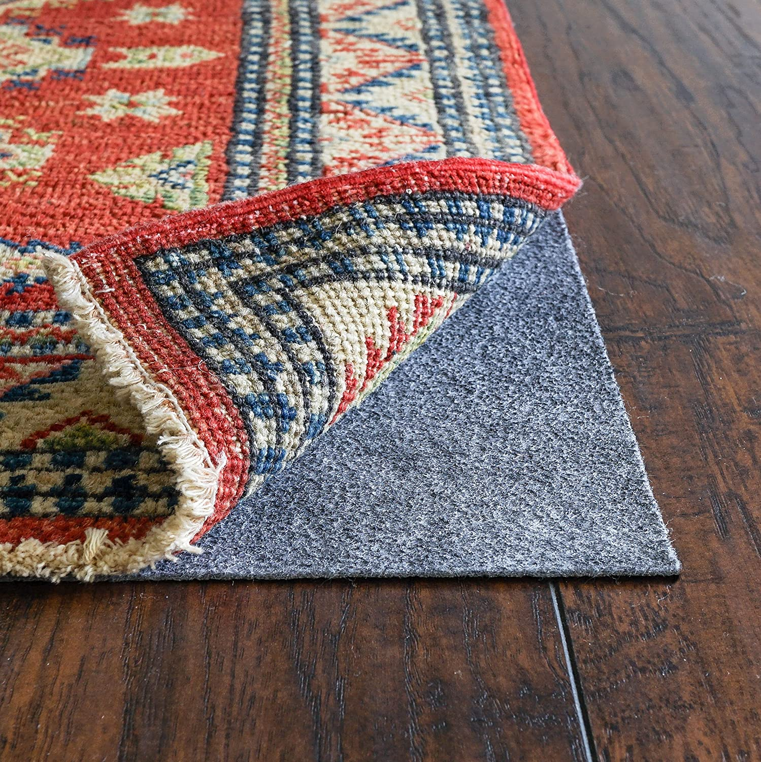 Shop RUGPADUSA, RugPro, Thick, Felt and Rubber, Ultra Slim Non-Slip Rug Pad from Amazon on Openhaus