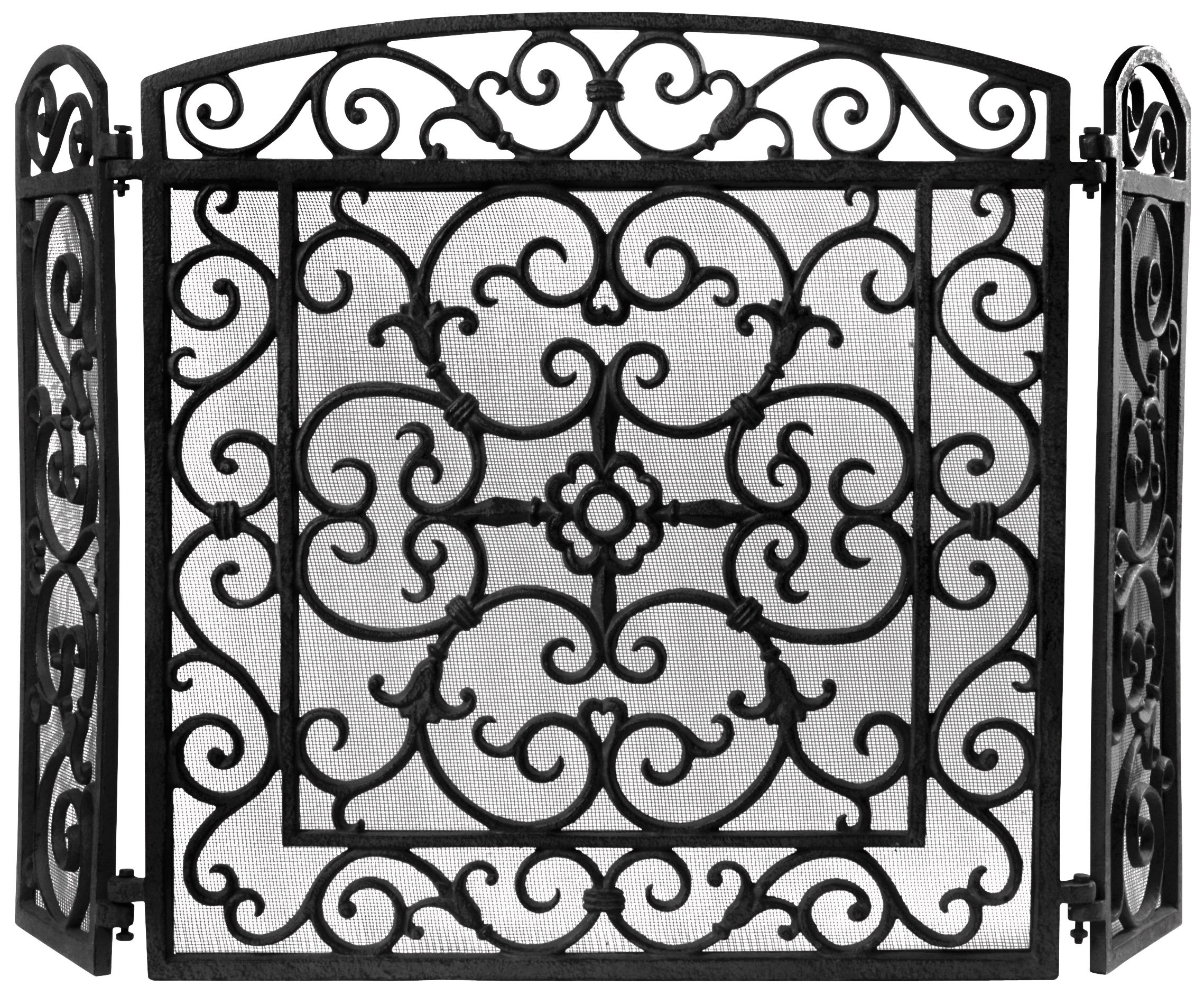 Esschert Design FF27B Cast Iron Fireplace Screen