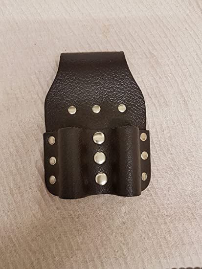 """Heavy Duty 2/"""" Wide Professional Leather Work Belt /& Real Black Axe Holder Safety"""
