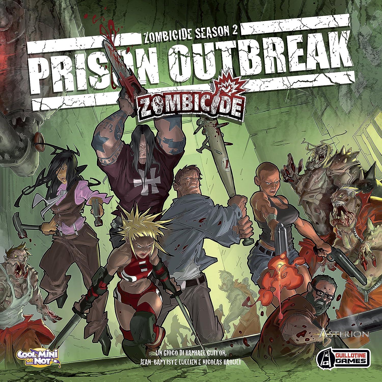 Asterion 8432 - Zombicide Prisión Outbreak, edición Italiana: Amazon.es: Juguetes y juegos