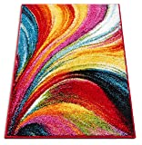 Well Woven Aurora Multi Color Geometric Brush