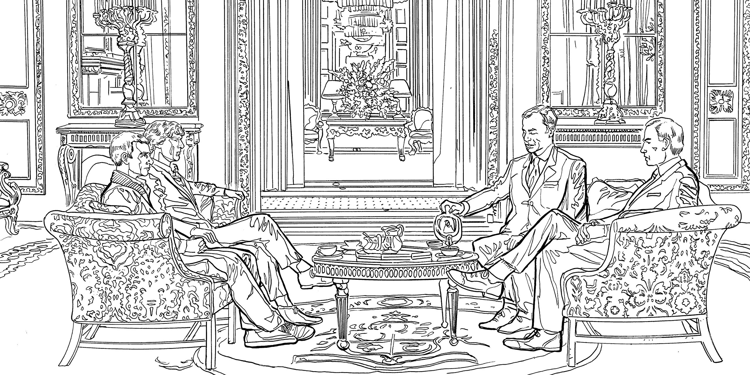 Buy Sherlock The Mind Palace Official Colouring Book Online At Low Prices In India