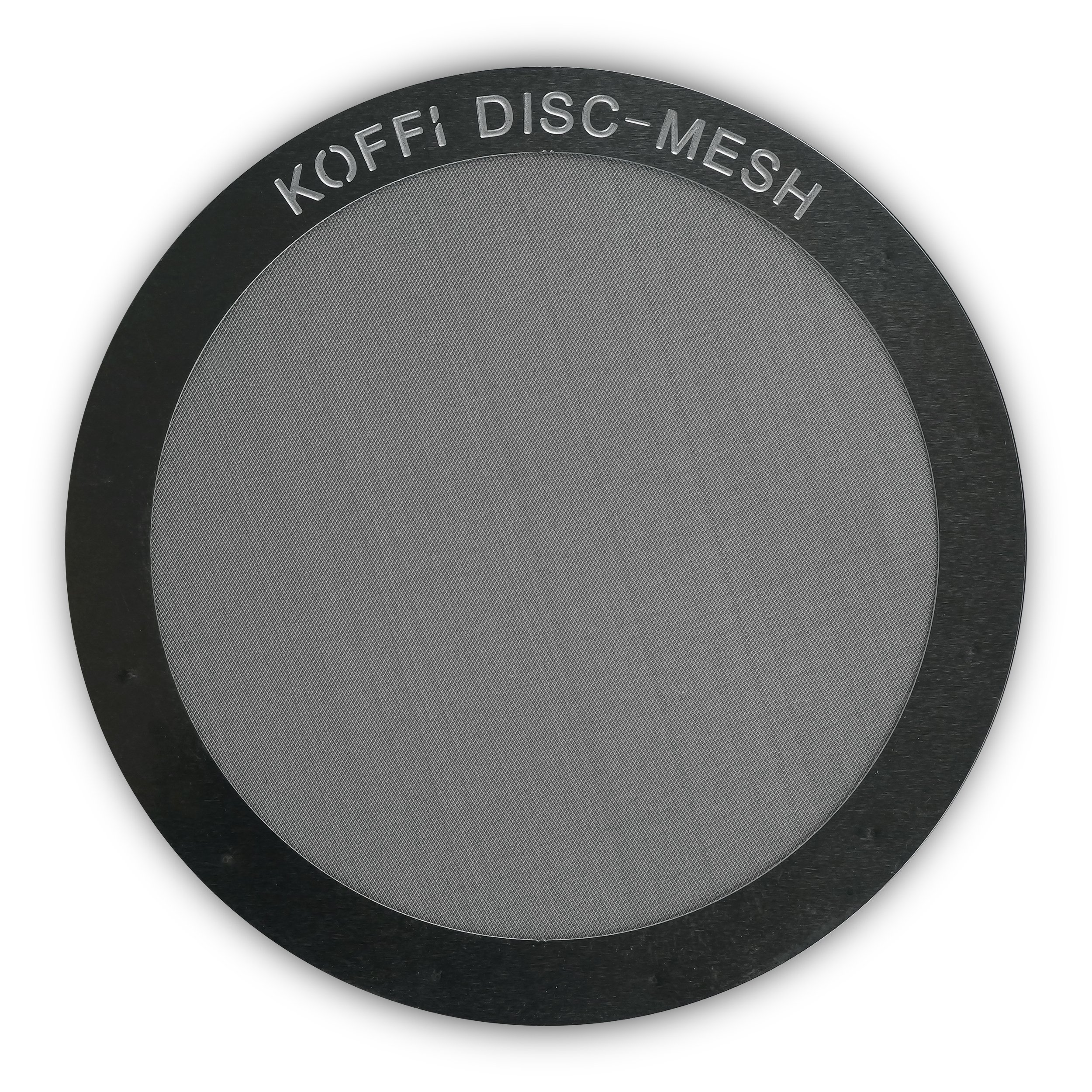 KOFFI ® DISC - Metal Filter for AeroPress - Reusable - Stainless Steel Ultra Fine Mesh Disk - for Better Tasting Coffee