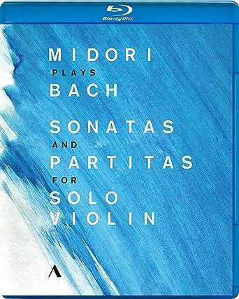 五嶋みどり、バッハを奏でる (Midori plays Bach ~ Sonatas and Partitas for Solo Violin) [Blu-ray] [輸入盤] [日本語帯・解説付]