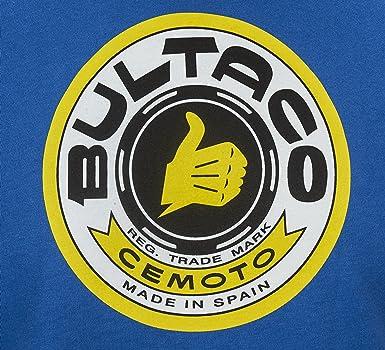 Bultaco Camiseta Manga Larga (S): Amazon.es: Ropa y accesorios