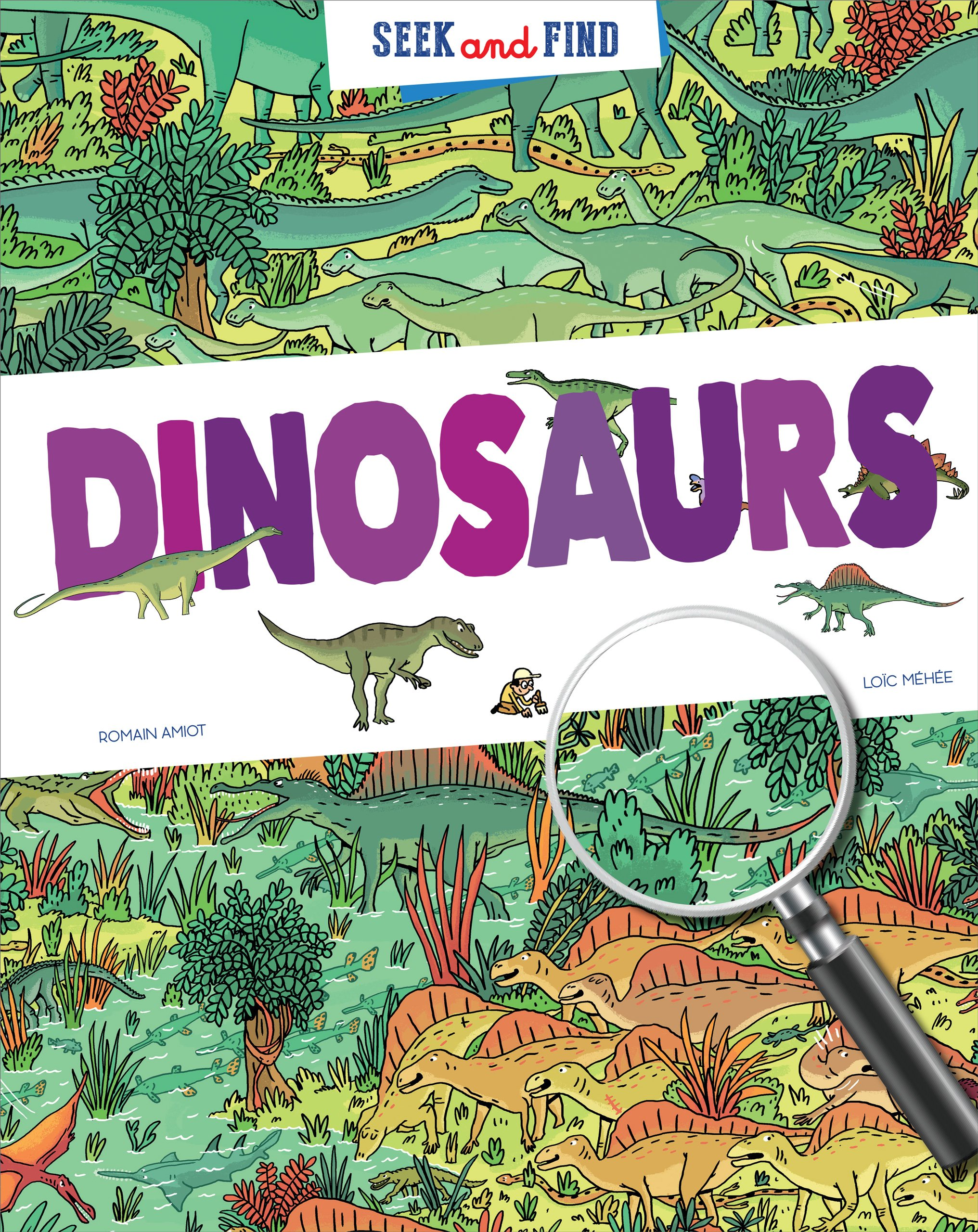 Seek & Find - Dinosaurs (Seek and Find)