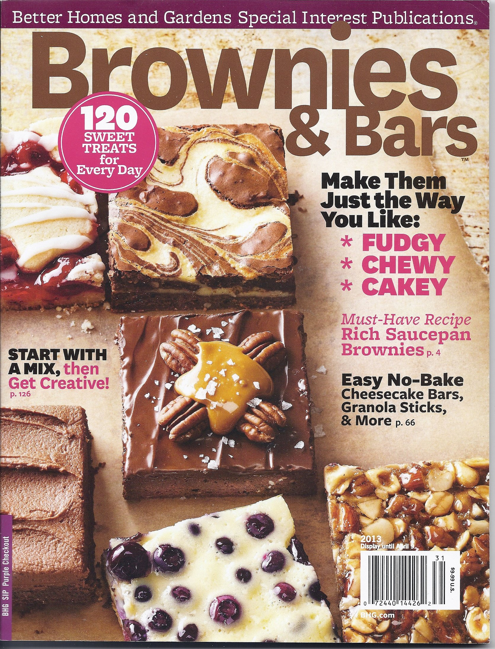 brownies bars magazine better homes gardens special interest publications james d blume amazoncom books - Better Homes And Gardens Past Issues
