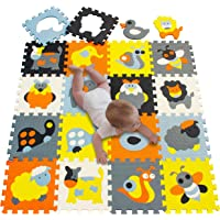 Meiqicool Baby Playmats Floor Gyms Jigsaws Puzzles Jigsaw Accessories Puzzle Play mats Floor jigsaws Exercise mats Frame…