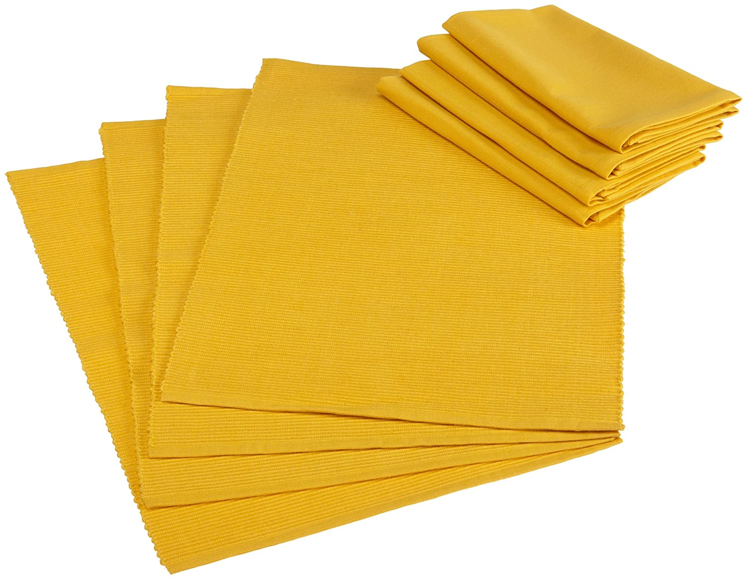 DII Basics Daffodil Table Linen Set 6906/8906