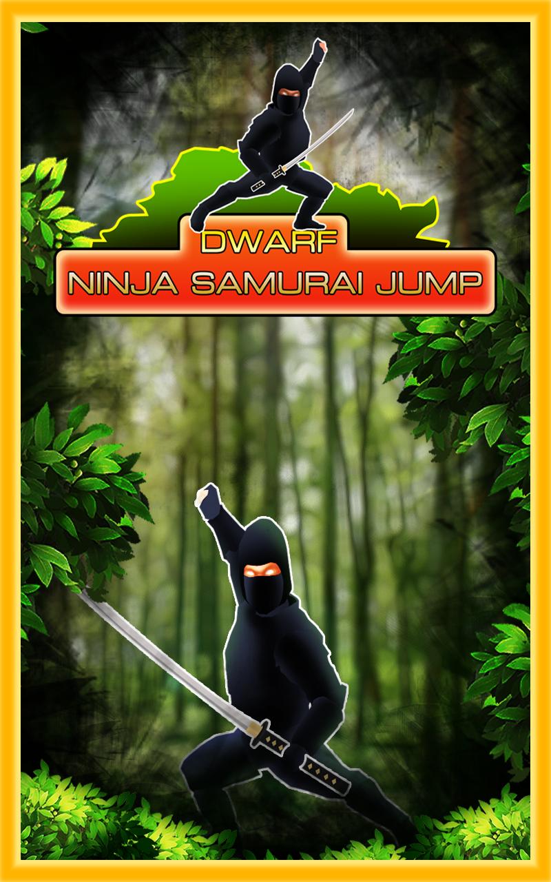 enano ninjas salto samurai en el bosque de los elfos ...