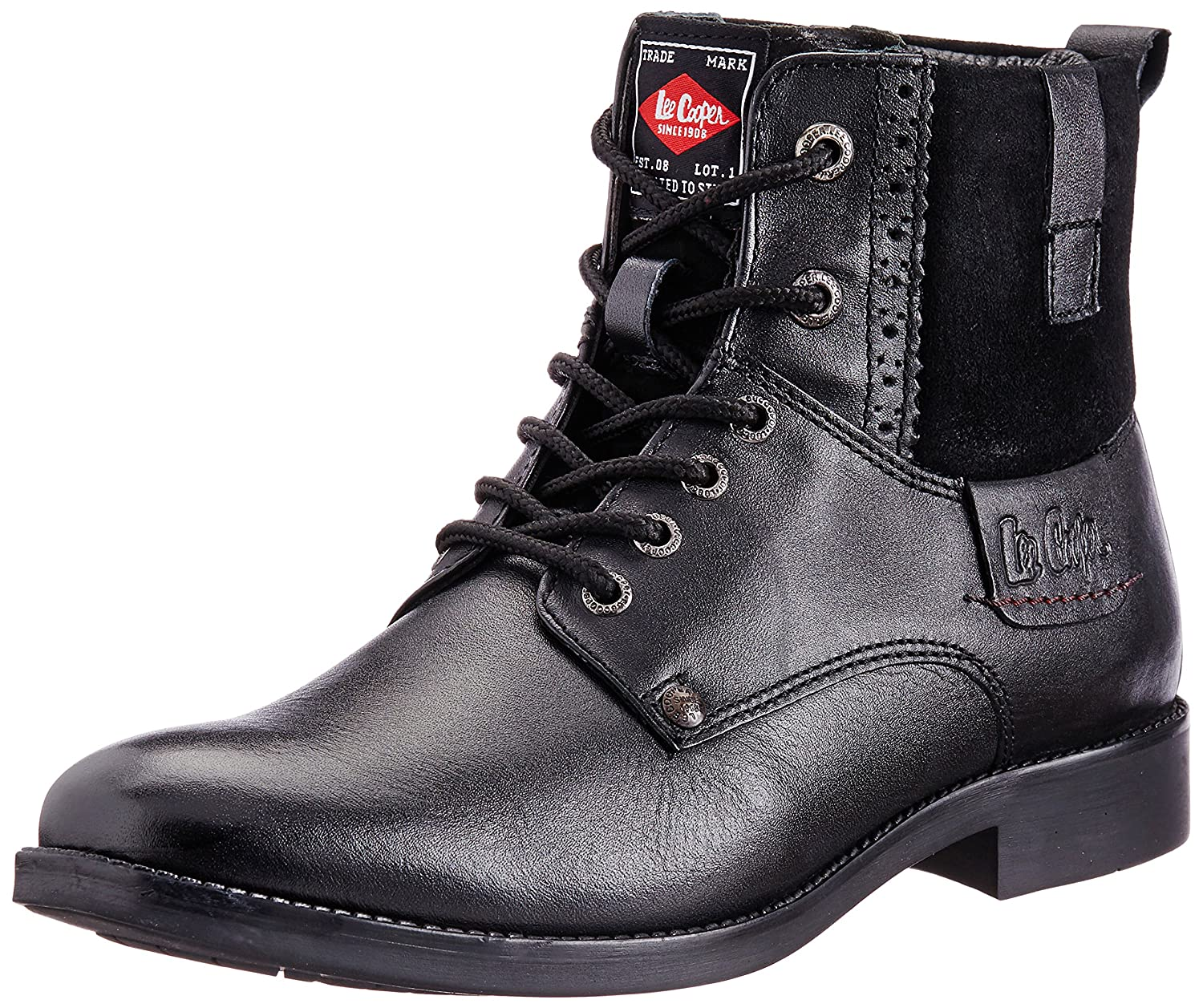 Buy Lee Cooper Men's Leather Boots at
