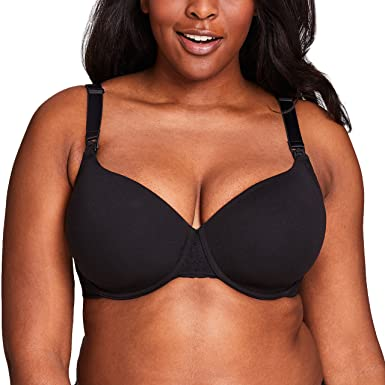 d4223034e5005 Racerback Nursing Bra T-Shirt Bra for Women by La Leche League - Black