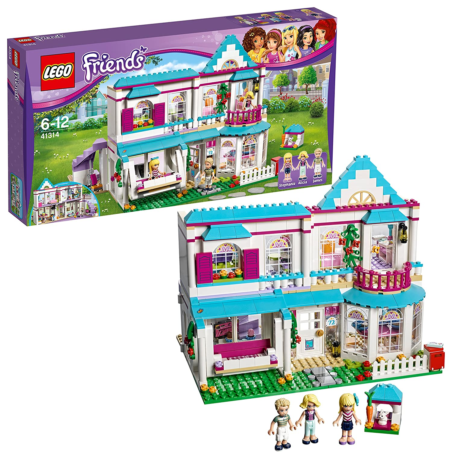 Lego 41314 Friends Heartlake City Stephanies House Building Set