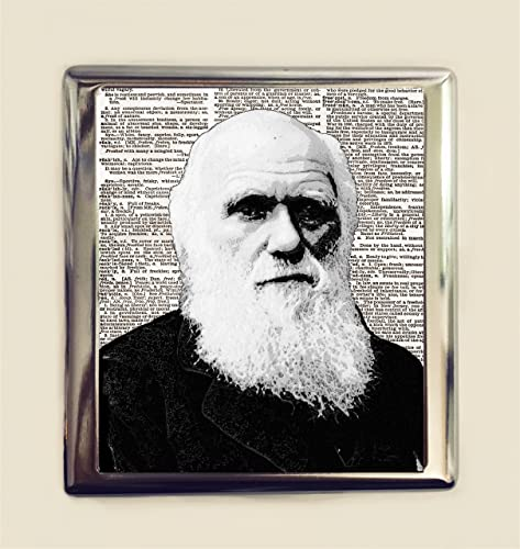 Amazon Charles Darwin Cigarette Case Business Card Id Holder