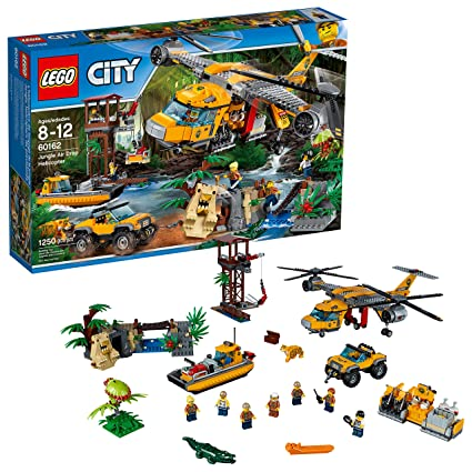 Amazoncom Lego City Jungle Explorers 6174645 Air Drop Helicopter