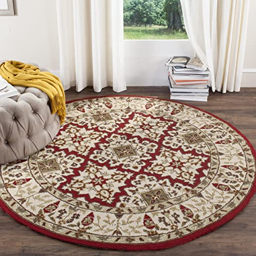 Safavieh Easy Care Collection EZC721A Hand-Hooked Area Rug