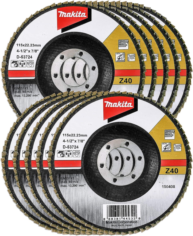 Makita D-28070 Flap Disc Multi-Colour