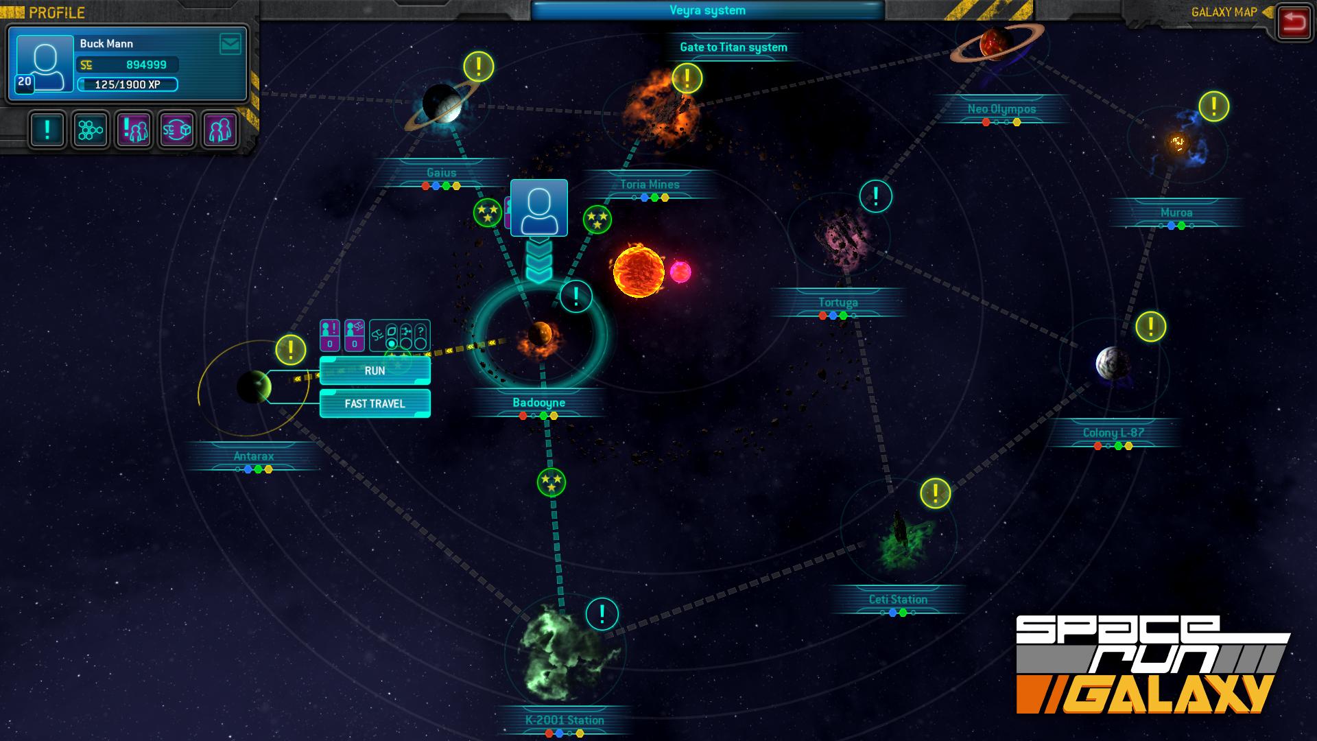 Space Run Galaxy Online Game Code