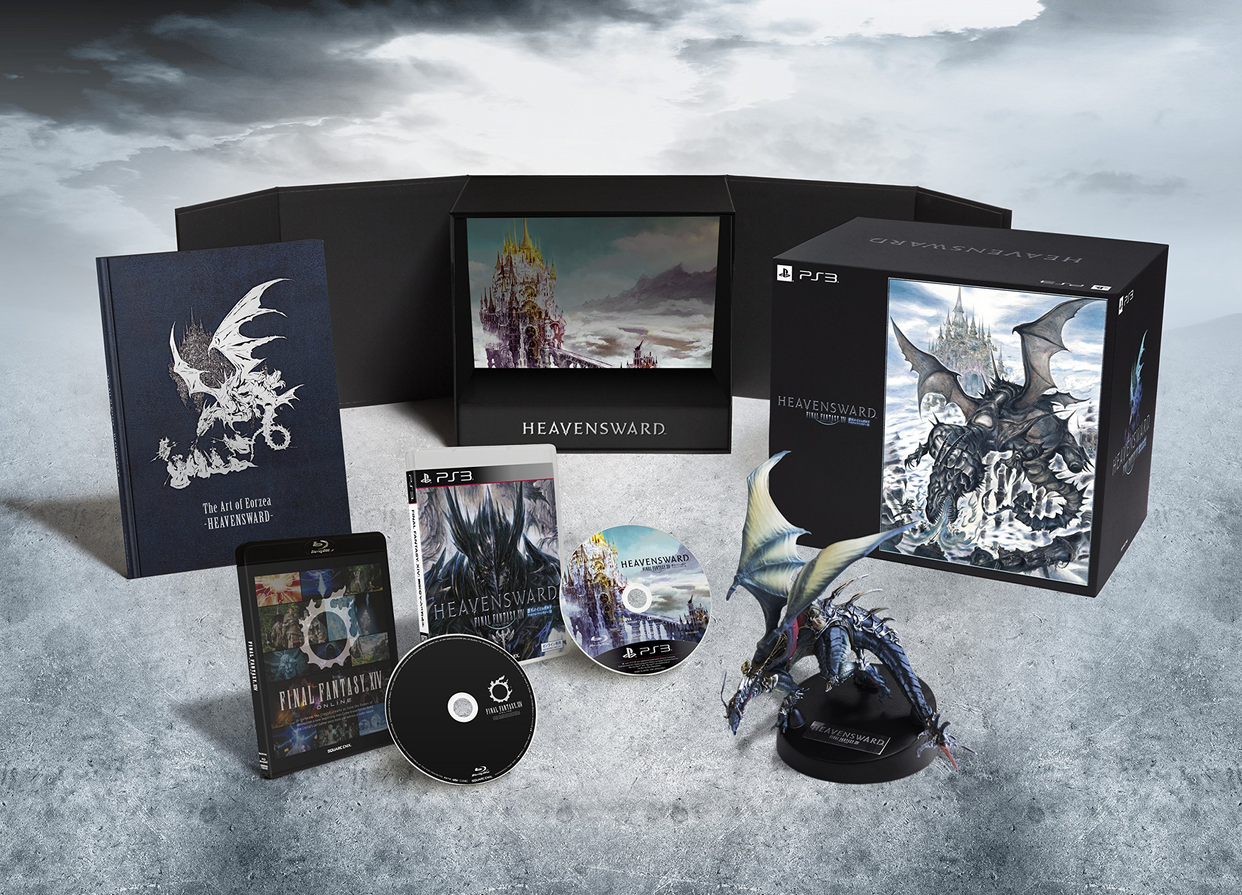 Ps3 Final Fantasy Xiv 14 Heavensward Collector's Edition Limited