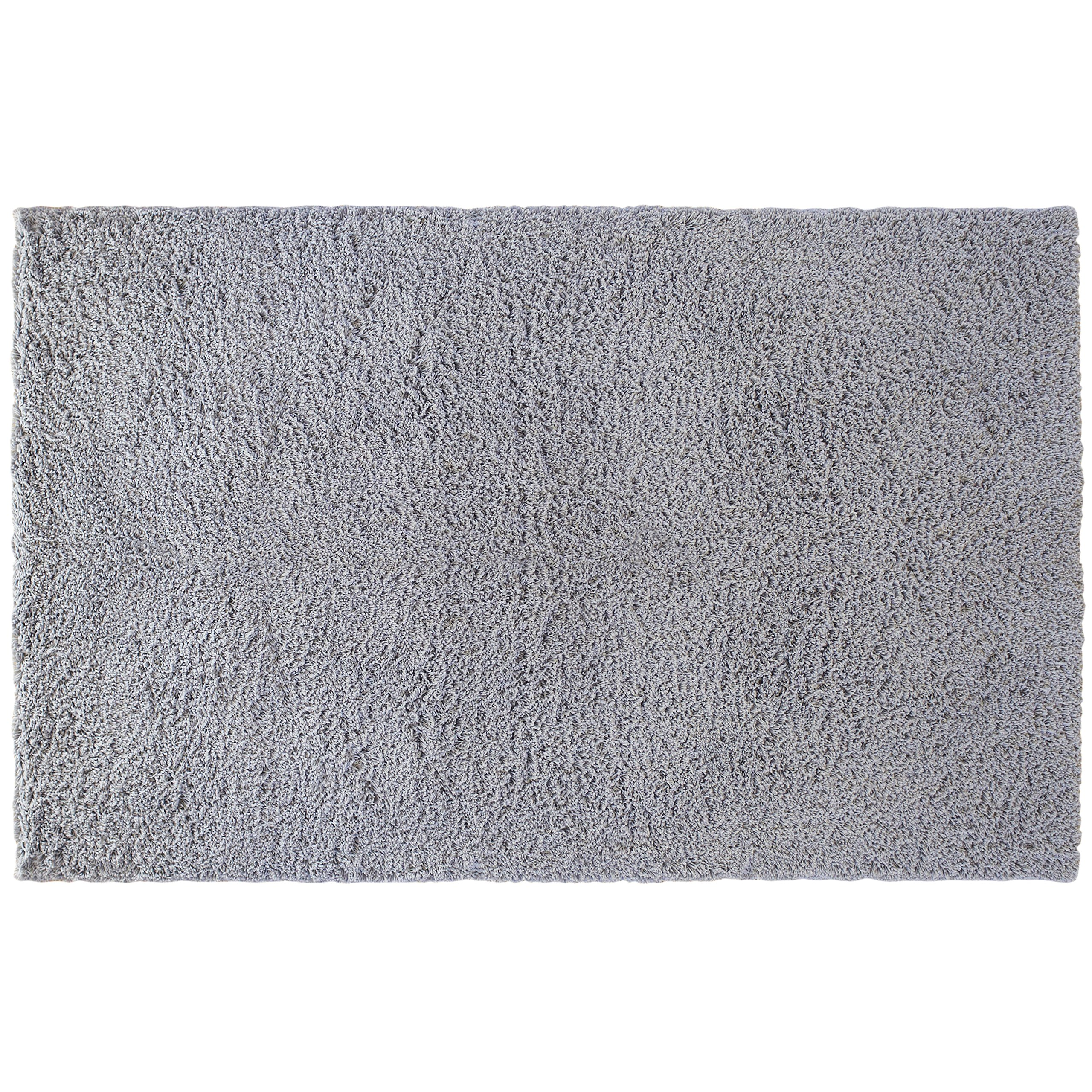 Little Love by NoJo Shag Nursery Rug, Solid Grey, 3'9'' x 5'9'' by NoJo