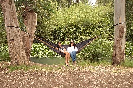 amazon    new year sale double camping hammock   lightweight nylon portable hammock   best parachute double hammock for backpacking travel camping     amazon    new year sale double camping hammock   lightweight      rh   amazon