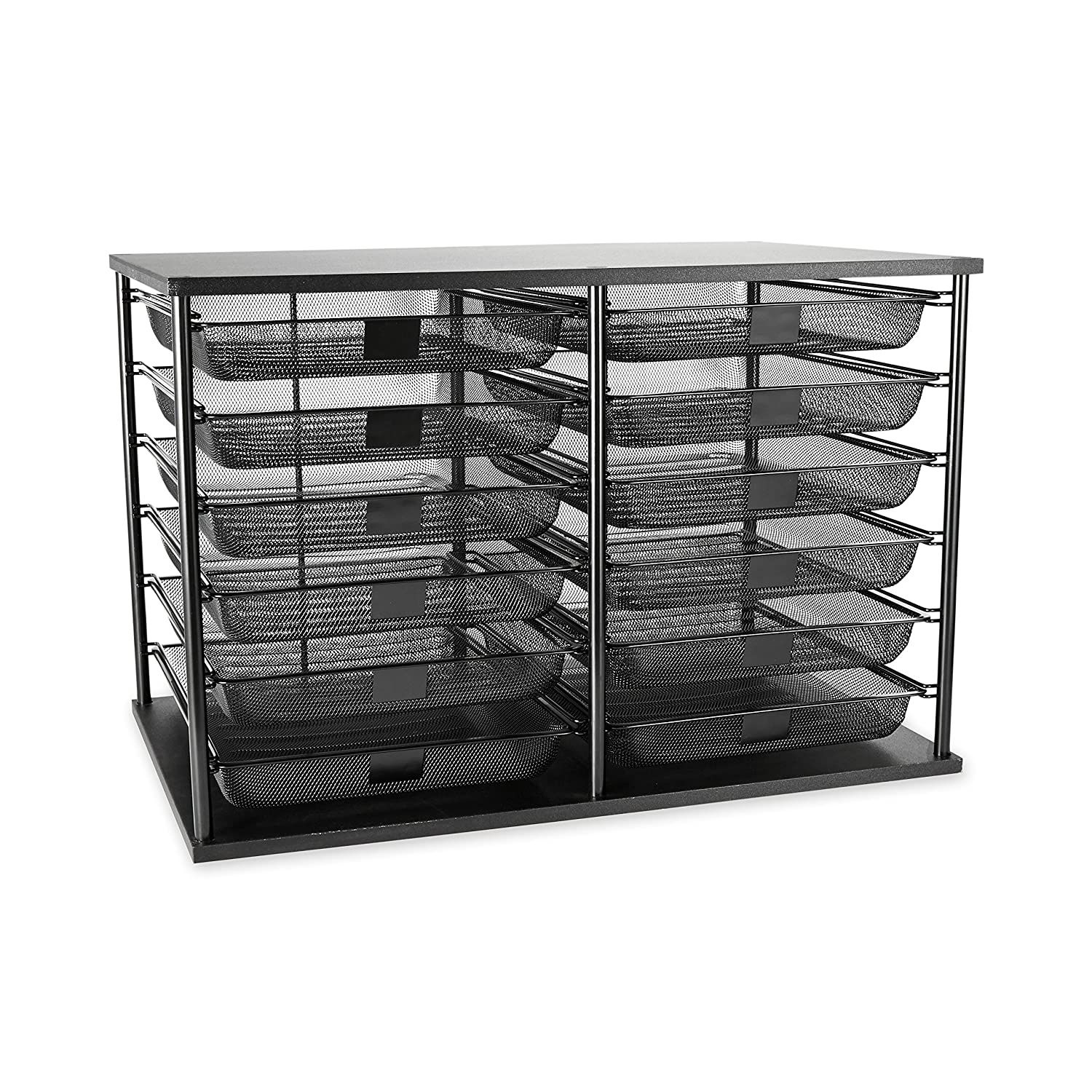 Rubbermaid 1735746 12-Compartment Organizer