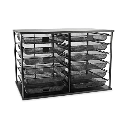mesh dp drawer rubbermaid drawers mail compartment with desk organizer