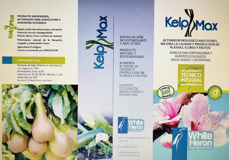 2 KELPMAX® (4.000 m2); Multinutrientes-Algas; Fertilizante premium ...