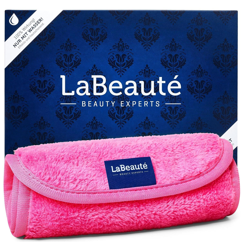 LaBeauté Toalla Desmaquillantes grande (1 pieza) - toalla limpiadoras y desmaquilladoras - Toalla de microfibra para limpieza facial - lavables y ...