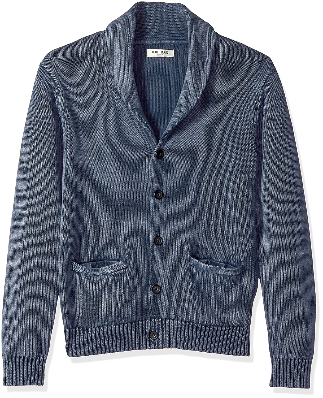 Goodthreads Soft Cotton Shawl Cardigan Sweater Hombre Marca
